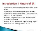 introduction 1 nature of er