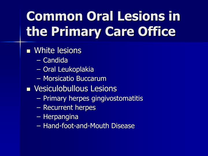 oral thrush in infants