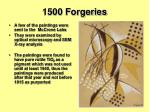 1500 forgeries1