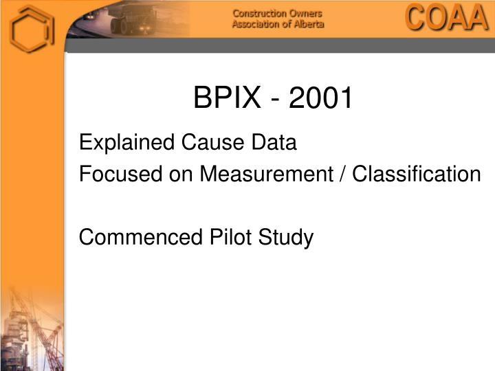 BPIX - 2001