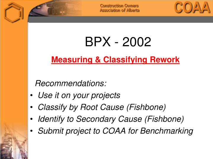 BPX - 2002