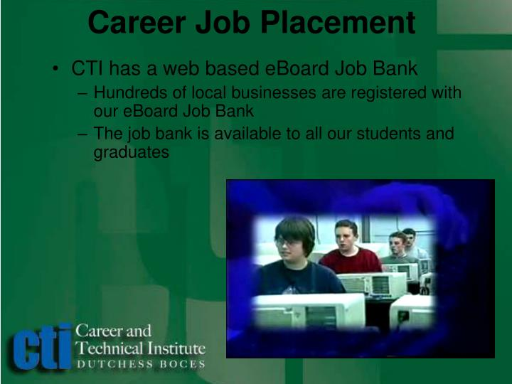 Career Job Placement