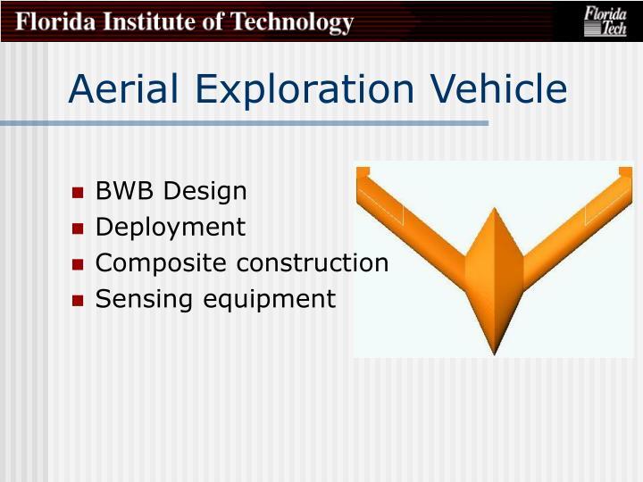 Aerial Exploration Vehicle