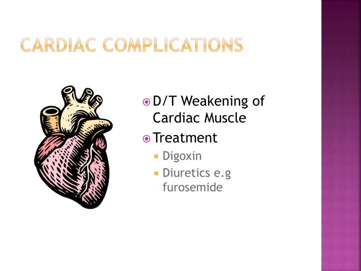 Cardiac Complications