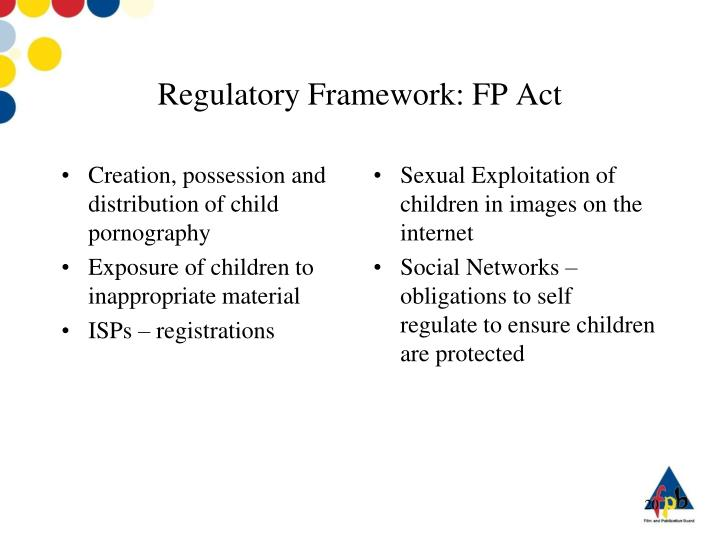 an argument that the government should regulate the internet to curb child pornography
