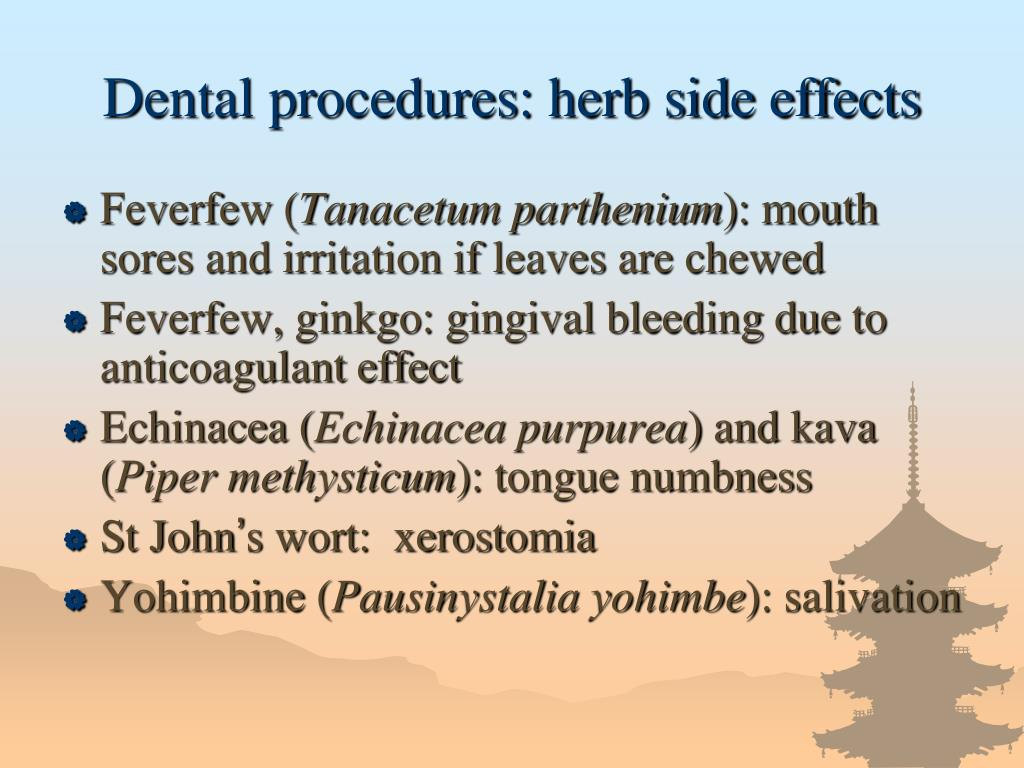 Ppt Herbs Drugs Interactions Powerpoint Presentation