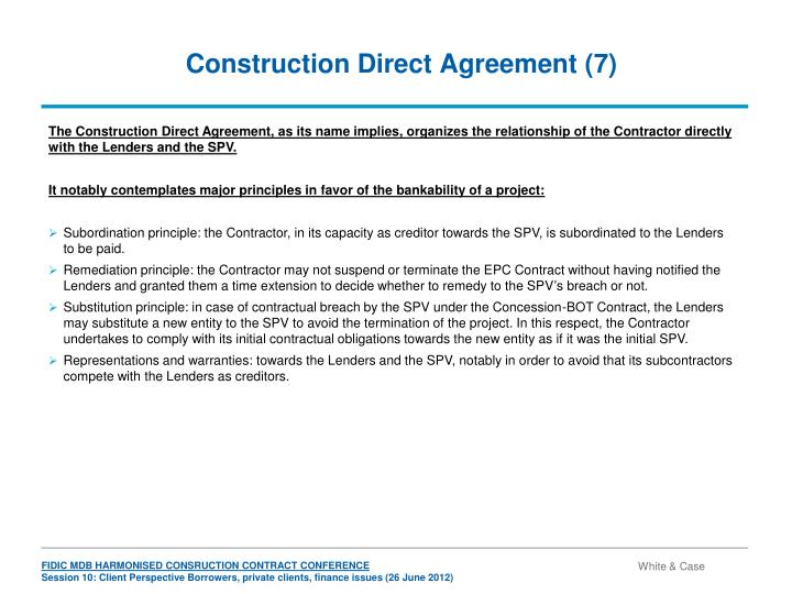 Construction Direct Agreement (7)