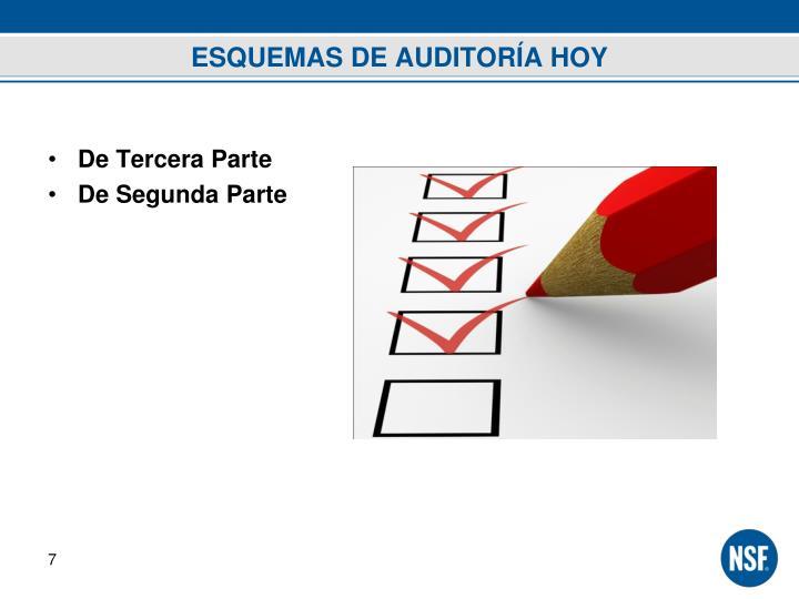ESQUEMAS DE AUDITORÍA HOY