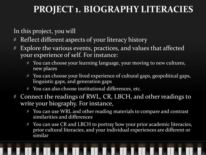 project 1 biography literacies n.