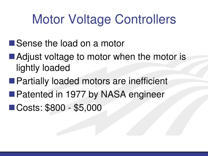Motor Voltage Controllers