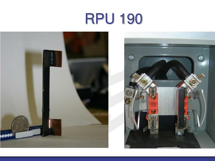 RPU 190