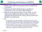 confusing terminology in anova