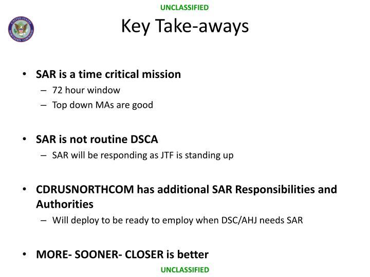 Key Take-