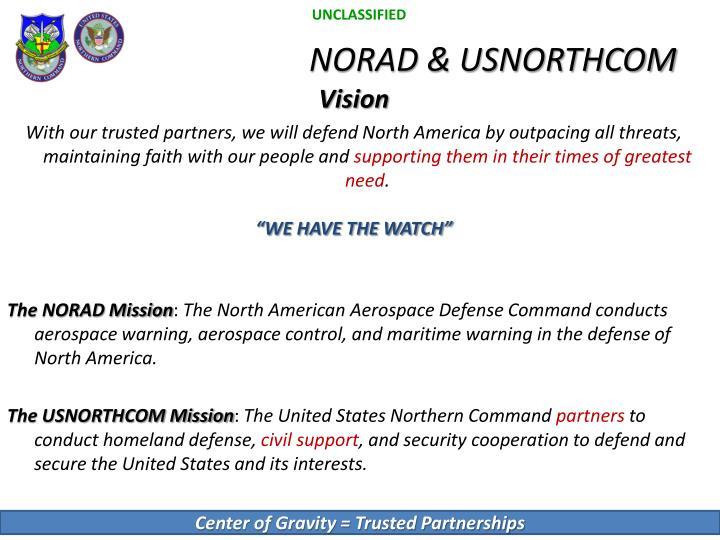 Norad usnorthcom