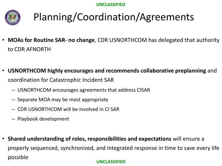 MOAs for Routine SAR- no change