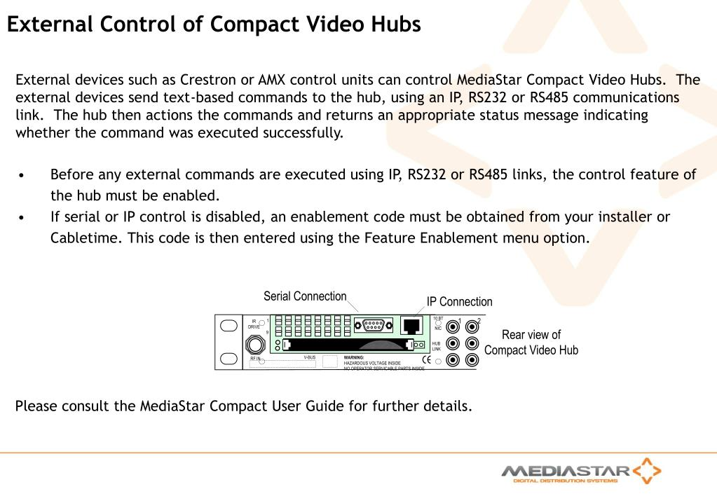 PPT - Introduction to MediaStar Compact PowerPoint