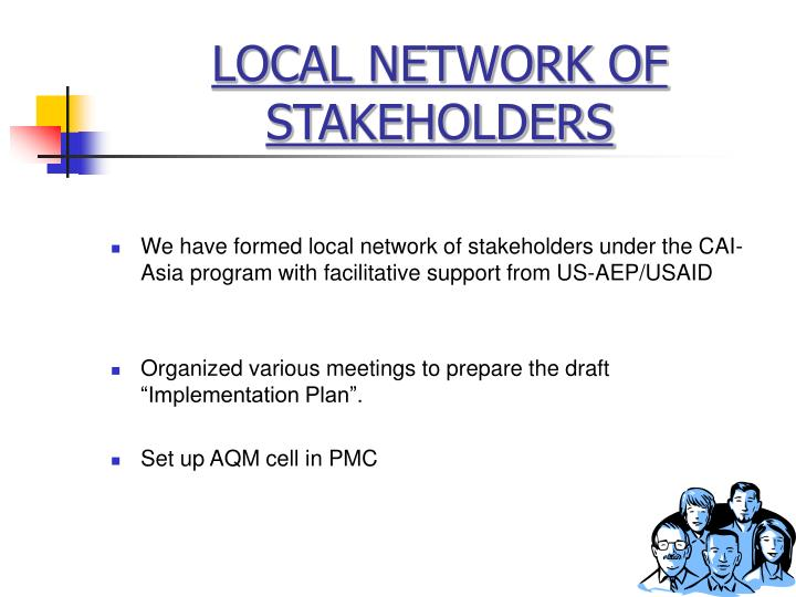 LOCAL NETWORK OF STAKEHOLDERS