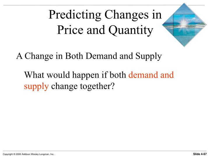 Predicting Changes in