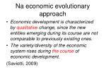 na economic evolutionary approach