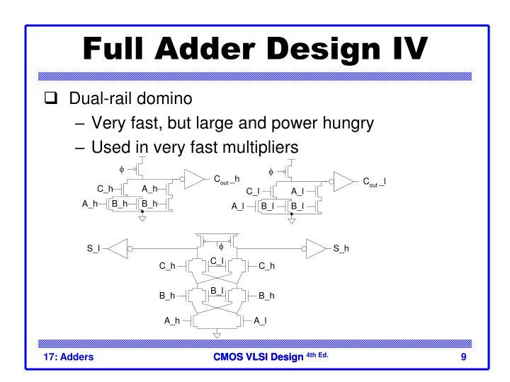 Full Adder Design IV