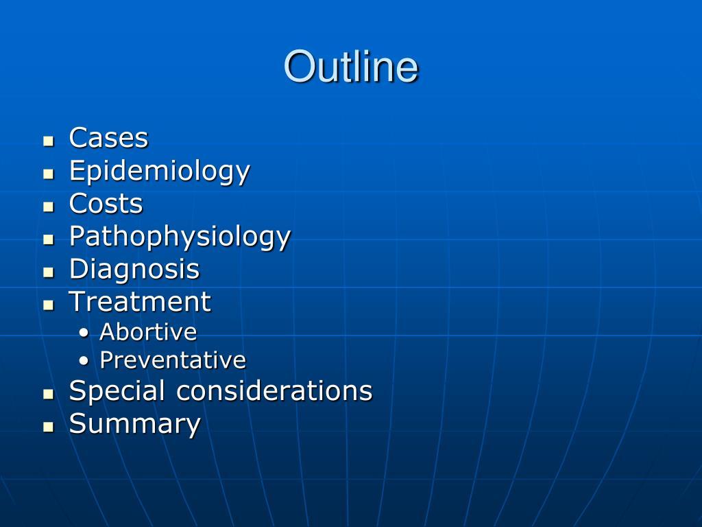 PPT - Migraine PowerPoint Presentation, free download - ID ...