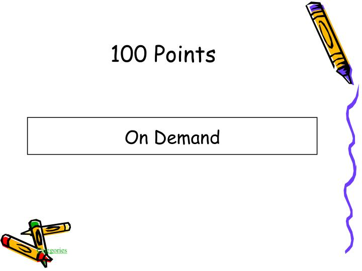 100 Points