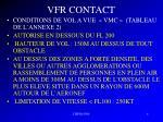 vfr contact