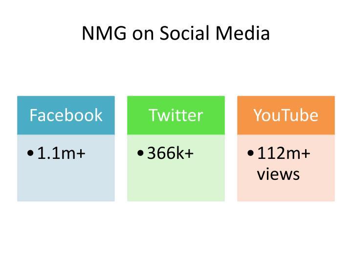 NMG on Social Media