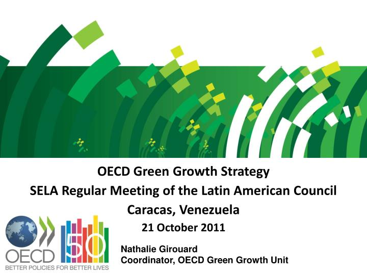 OECD Green Growth Strategy