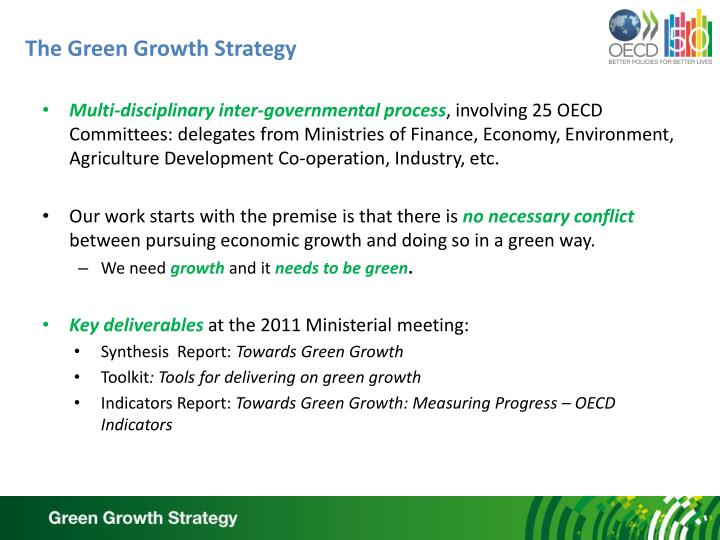 The green growth strategy