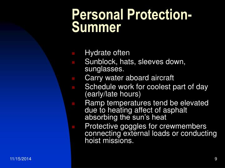 Personal Protection-Summer