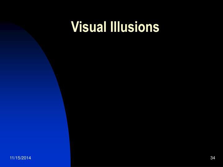 Visual Illusions