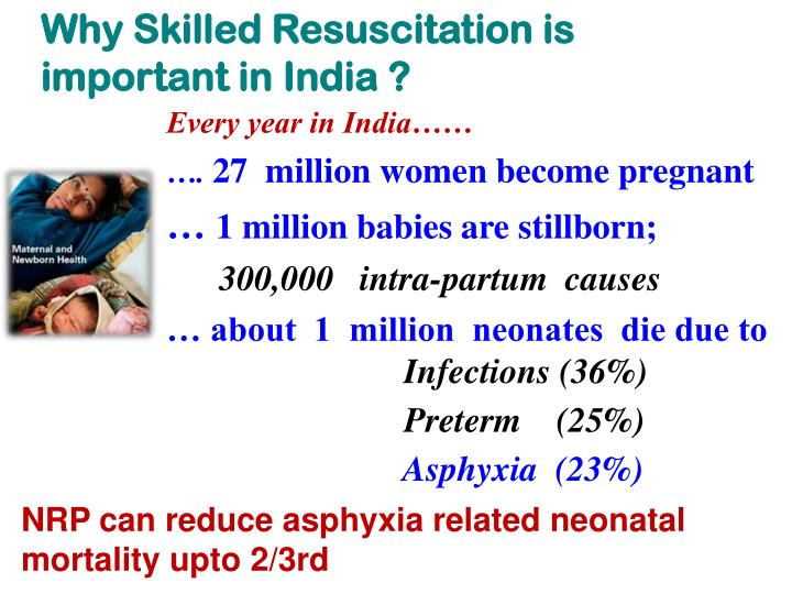 Why Skilled Resuscitation is  important in India ?