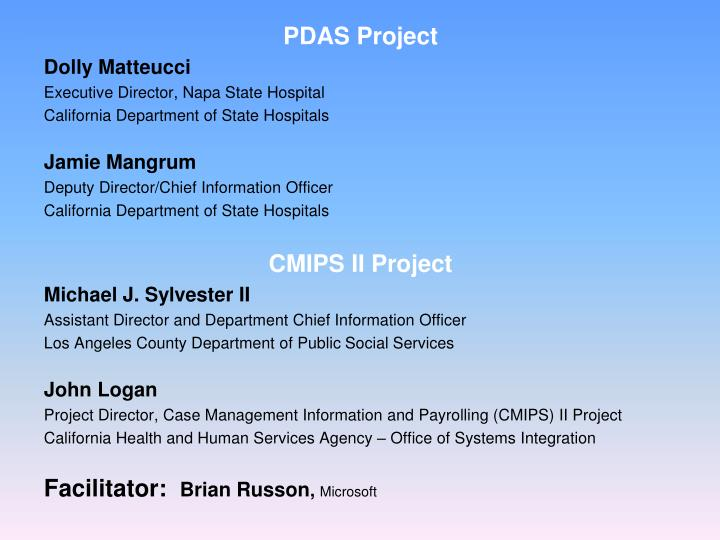 PDAS Project