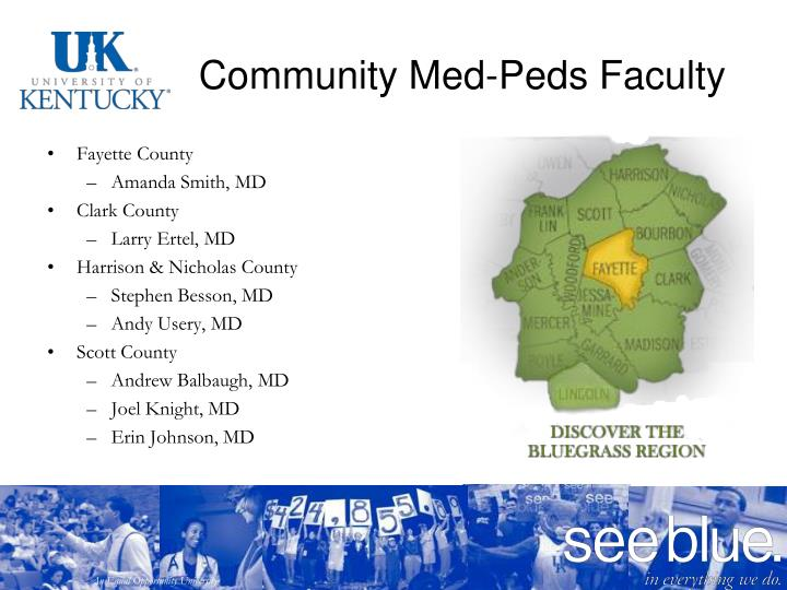Community Med-Peds Faculty