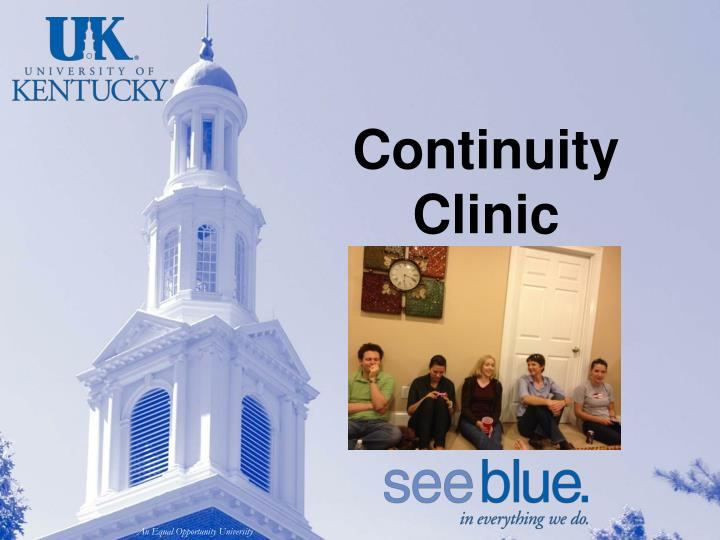 Continuity Clinic