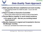 data quality team approach