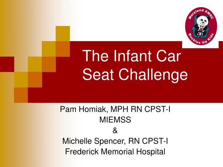 the infant car seat challenge n.