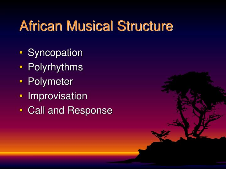 African Musical Structure