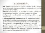 1 definirea mc