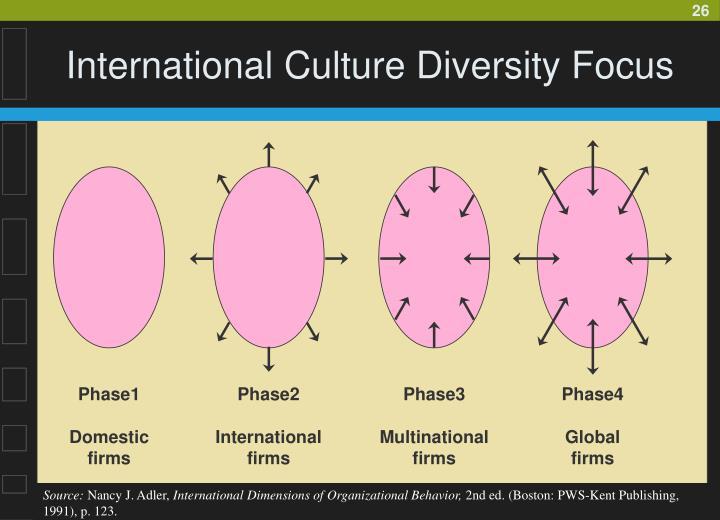 International Culture Diversity Focus