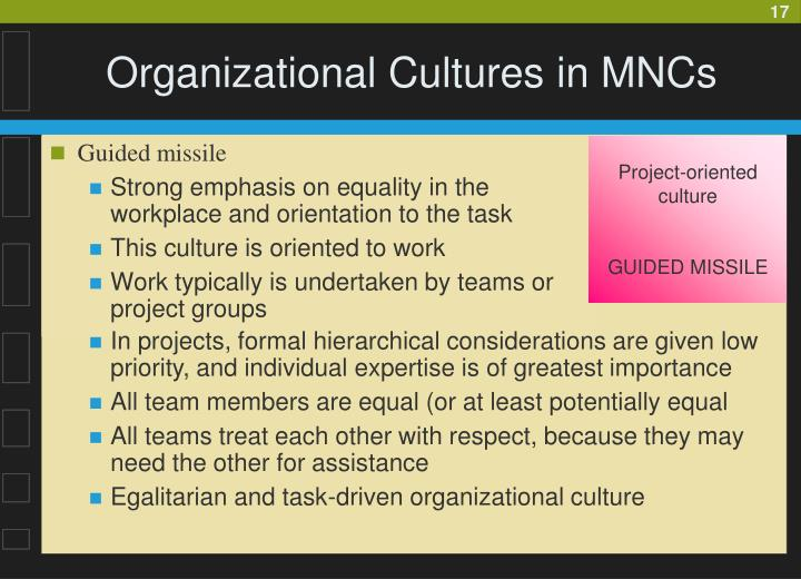 Project-oriented culture