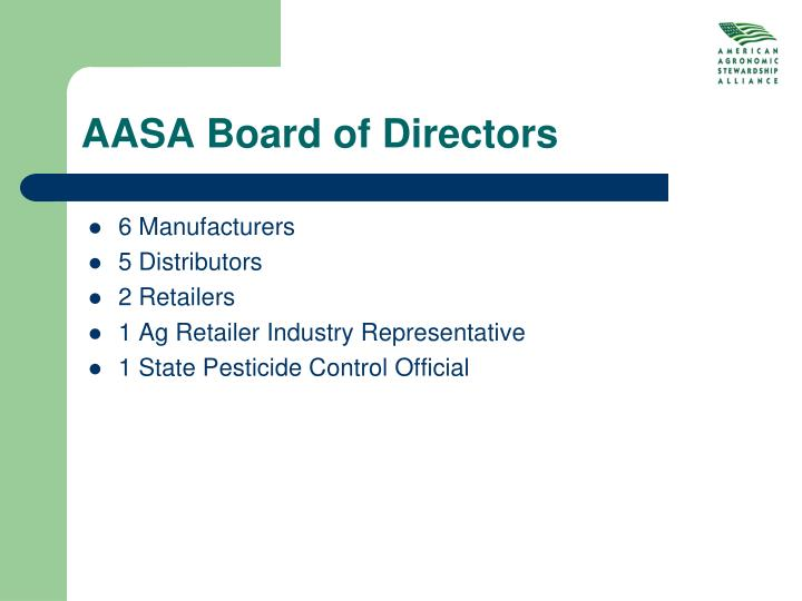 AASA Board of Directors