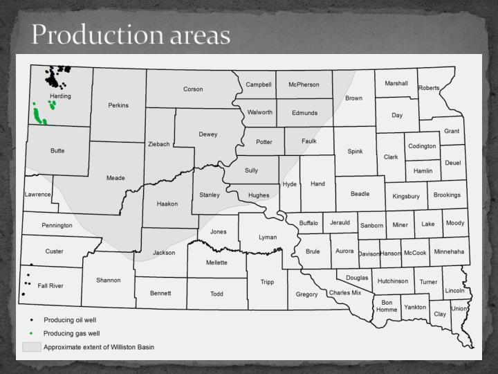 Production areas