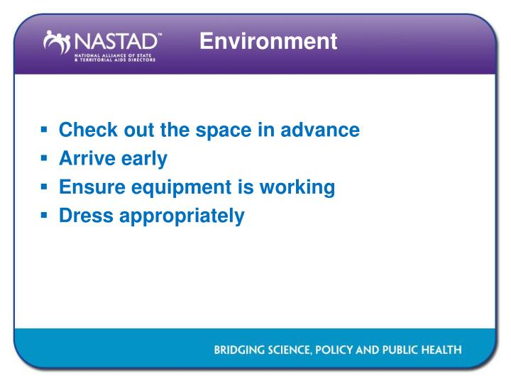 Check out the space in advance