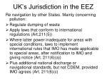 uk s jurisdiction in the eez
