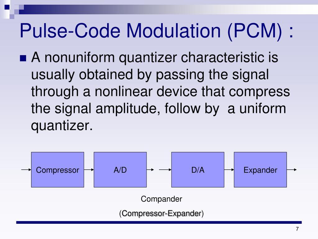 PPT - PCM & DPCM & DM PowerPoint Presentation - ID:6654138