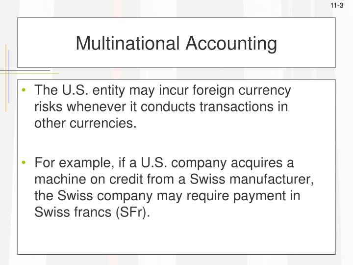 Multinational accounting1