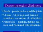 decompression sickness1