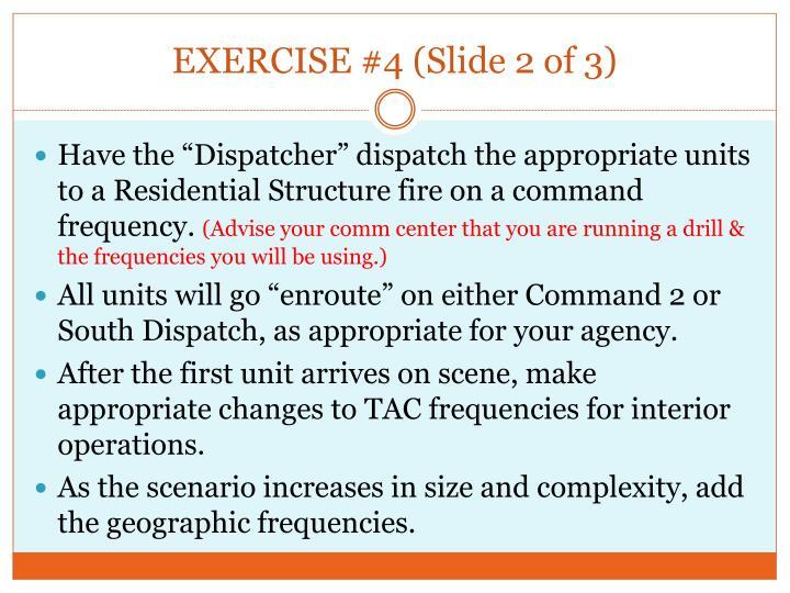 EXERCISE #4 (Slide 2 of 3)